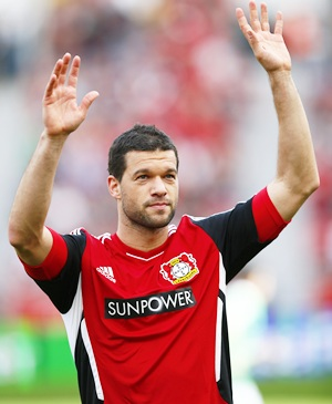 Ballack farewell overshadowed by Schuerrle Chelsea deal