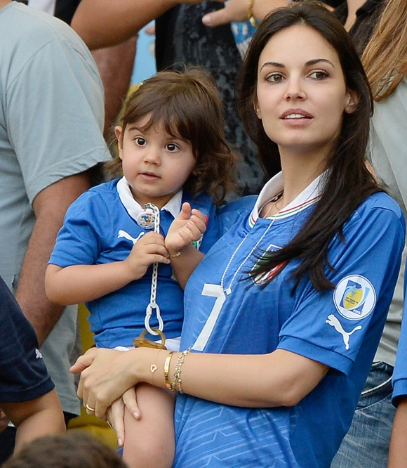 Photos Watch Out For The Azzuri Wags In Samba Land