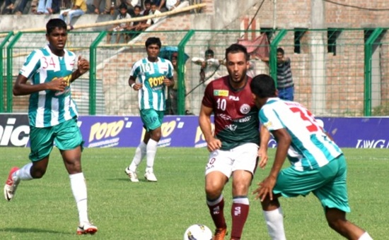 I-League: Mohun Bagan pip Arrows 3-2