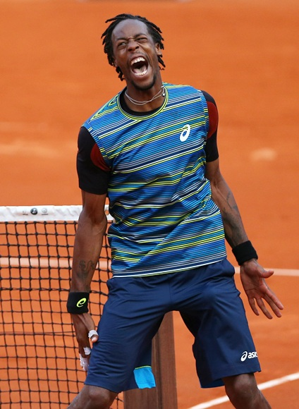 Gael Monfils of France
