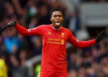 Liverpool's Sturridge sidelined for up to eight weeks