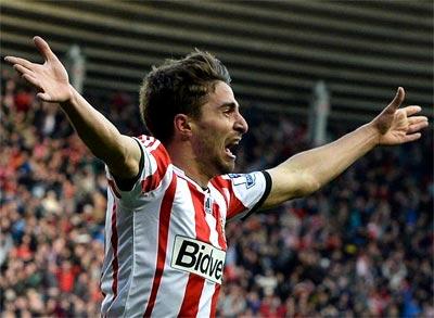 Liverpool flop Borini lifts gloom at Stadium of Light