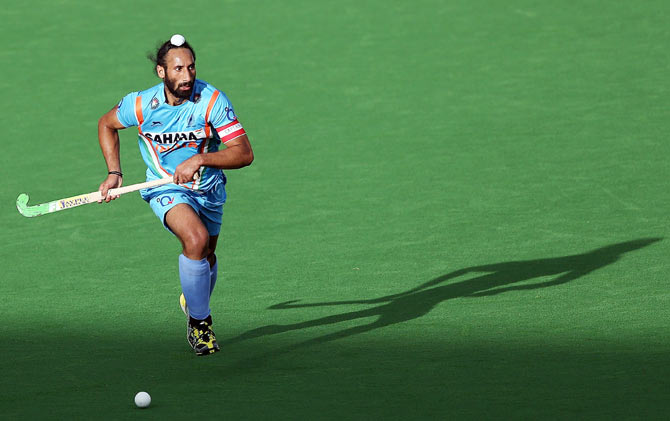 India hockey captain Sardar Singh