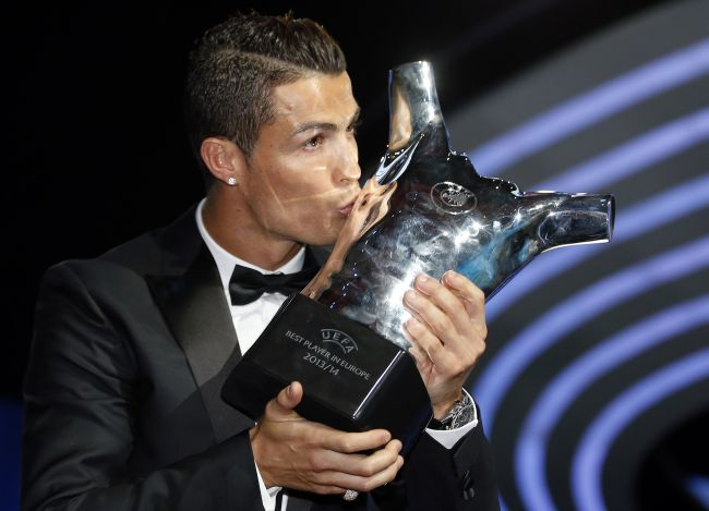 Ronaldo wins another European award for his museum