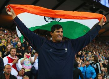 Gowda wins discuss throw, gives India first athletics gold