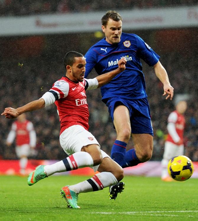 EPL PHOTOS: Arsenal reign supreme; United slump again