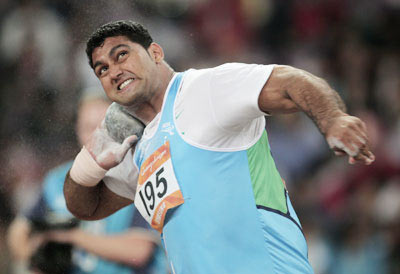 India shot putter Om Prakash Singh Karhana