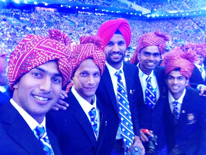 Indian hockey team members
