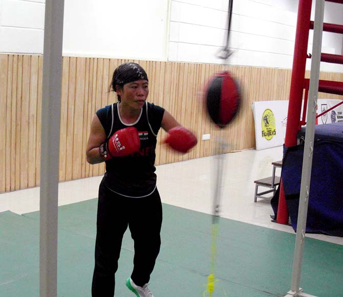 MC Mary Kom goes through her assessment