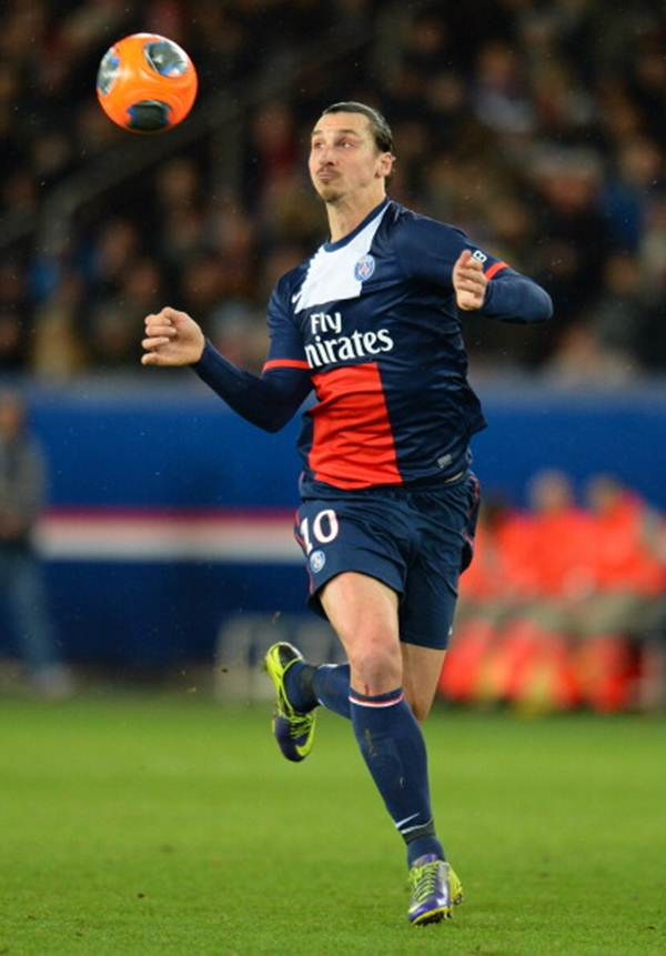 Zlatan Ibrahimovic of Paris Saint-Germain FC
