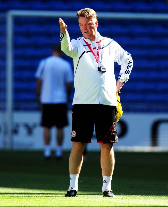 10 things on Van Gaal's Man United 'to-do' list