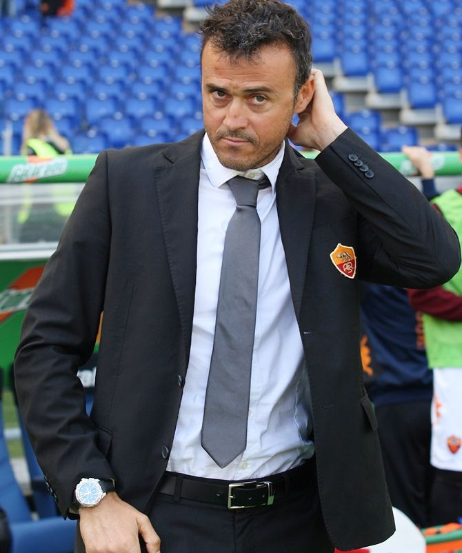 Former FC Barcelona manager Luis Enrique was named Spain coach after the team's ouster from the 2018 World Cup