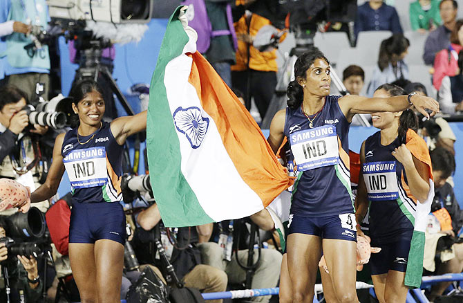 Indian relay team