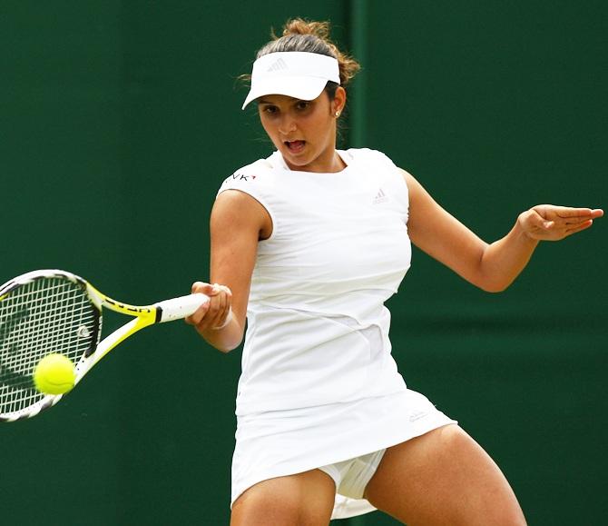 Tennis Rankings Sania Mirza No 6 Saketh Climbs Ladder - Rediff Sports-5753