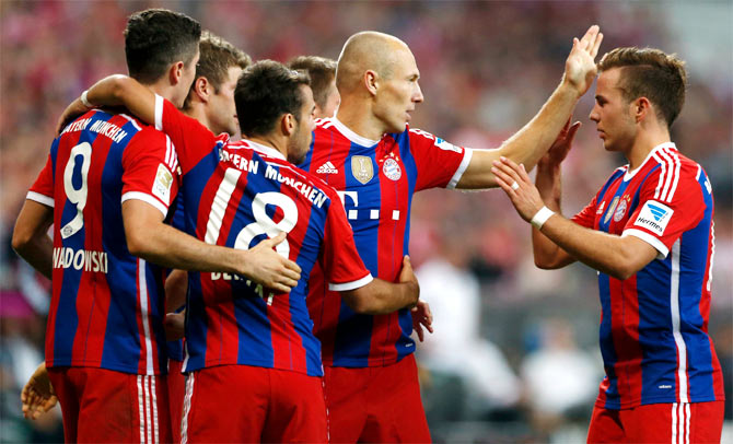 Injury woes for Bayern ahead of Manchester City game