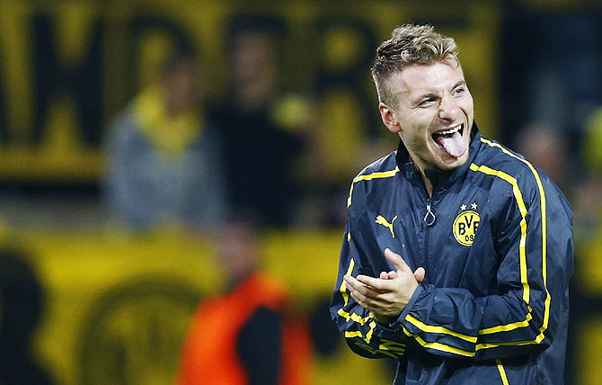 How Dortmund's Immobile found his touch and put Arsenal in state of inertia