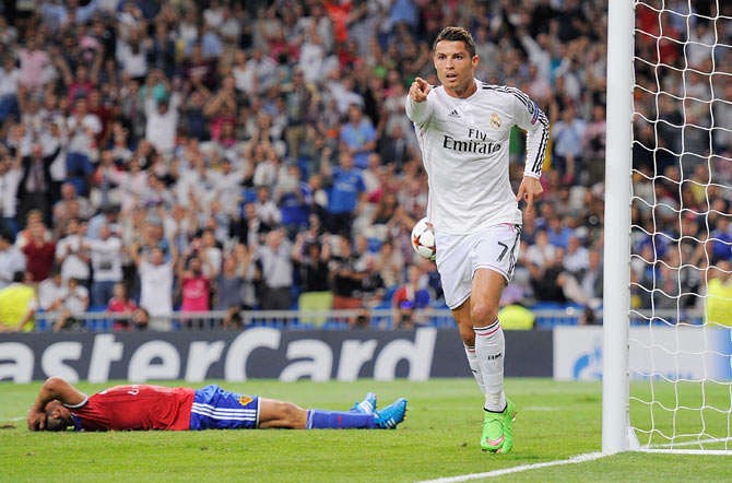 Champions League: Real thrash Basel 5-1; Arsenal lose to Dortmund