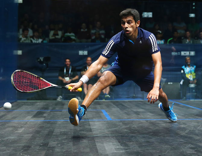Saurav Ghosal gets another opportunity to go one better than his effort in Glasgow in 2014 and claim a medal for India