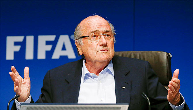 Sepp Blatter to attend World Cup in Russia: spokesman