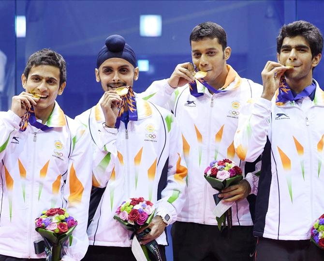 India at Asian Games: Archers hit bulls-eye; Men's squash ...