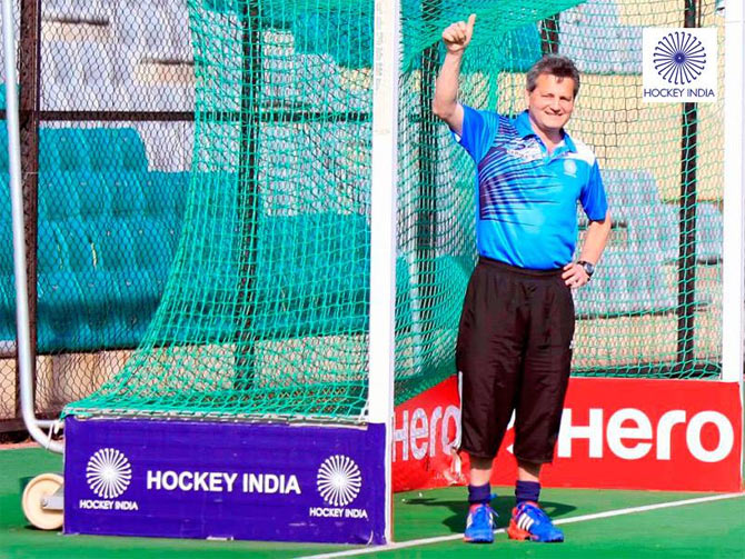 India hockey coach Paul van Ass