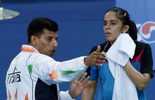 'Solely Saina's decision to leave Gopichand Academy'
