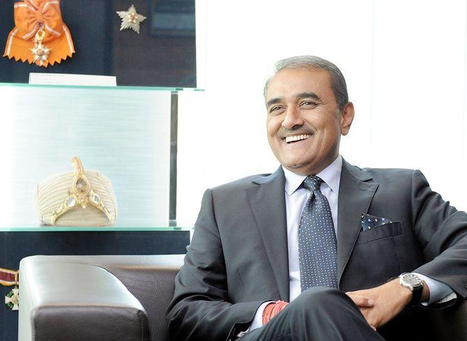 AIFF president Praful Patel