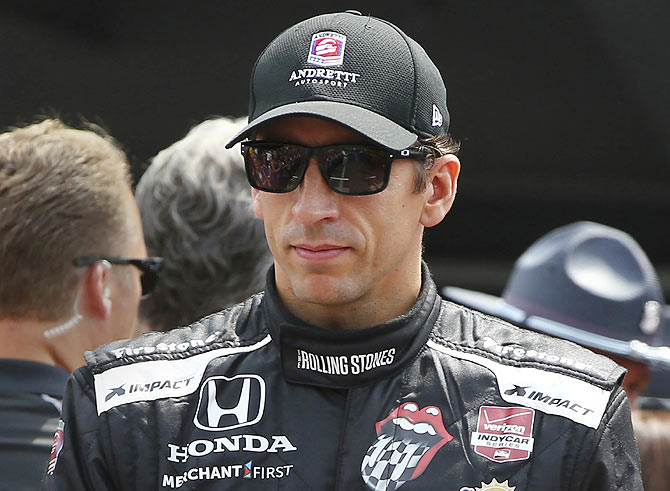 IndyCar Series driver driver Justin Wilson