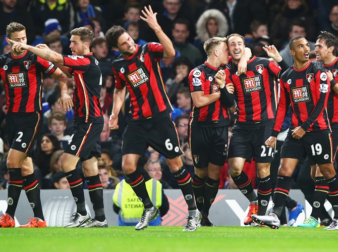 Bournemouth's players