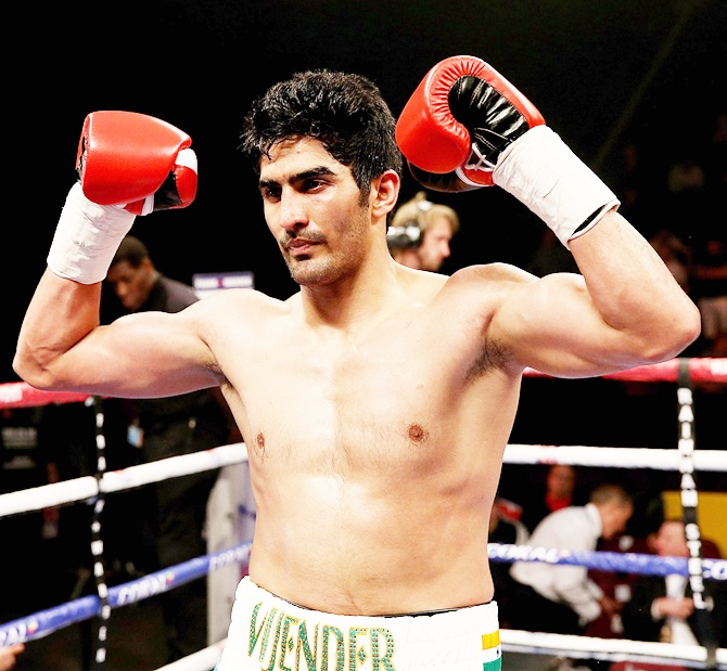 Vijender responds to Amir Khan's challenge