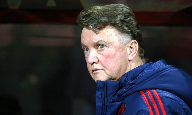 Louis van Gaal, the manager of Manchester United