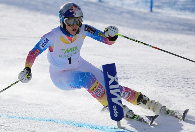 Lindsey Vonn of the US Alpine Ski Team