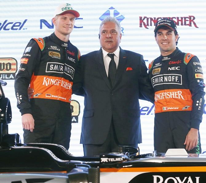 Perez, Hulkenberg staying at Force India: Mallya