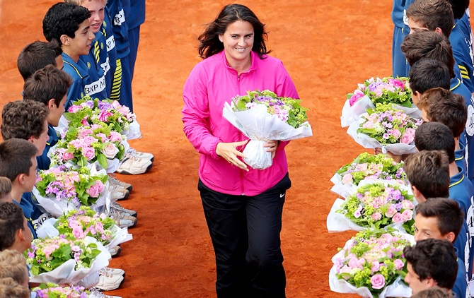 Former tennis player Conchita Martinez