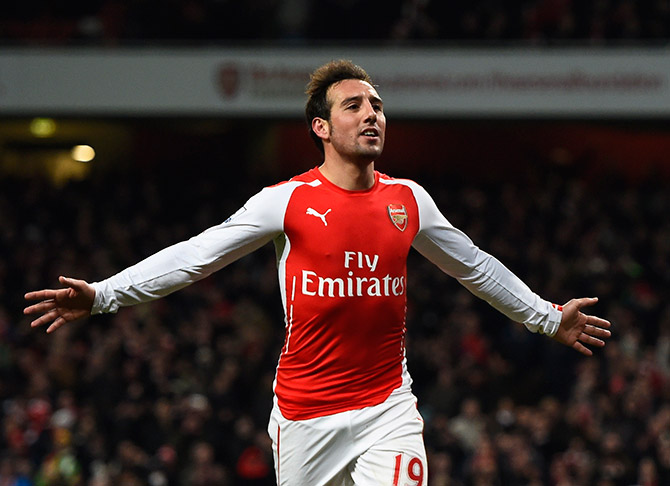Cazorla eager to extend stay at Arsenal