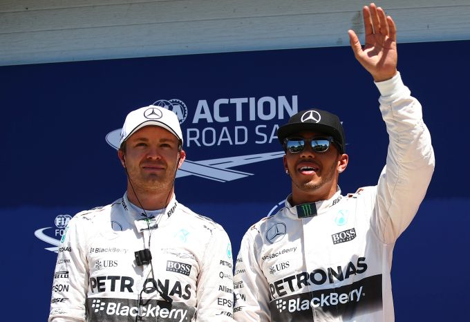 Hamilton one of the best, but no friend: Rosberg