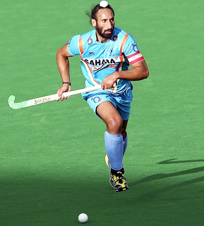 Rediff Sports - Cricket, Indian hockey, Tennis, Football, Chess, Golf - Veteran Sardar recalled for Asia Cup, Mandeep named captain
