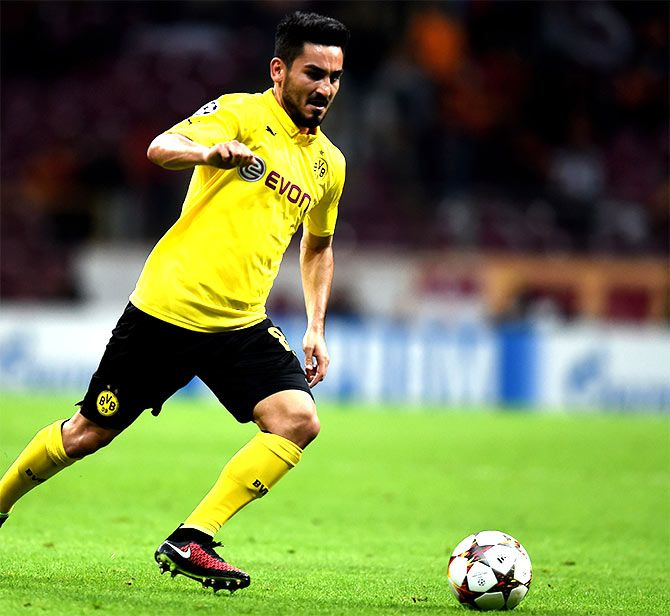 Ilkay Gundogan is likely to miss three matches for City while he self-isolates.