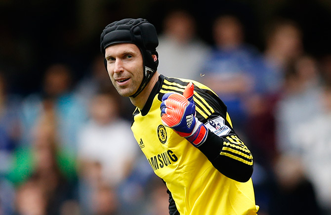 Petr Cech spent 11 years at Chelsea before moving to Arsenal in 2015