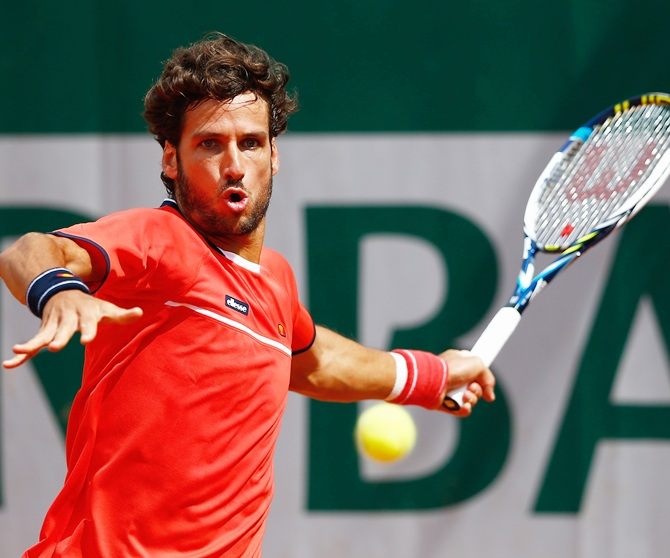 Feliciano Lopez of the Indian Aces