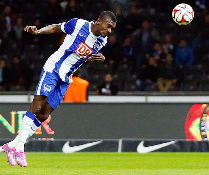 """Hertha's general manager Michael Preetz said that Salomon Kalou had caused the club """"a great deal of damage"""" and """"created the impression that individual players are not taking the corona issue seriously."""""""
