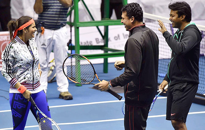 This tennis great has advice for Paes, Bhupathi, Sania