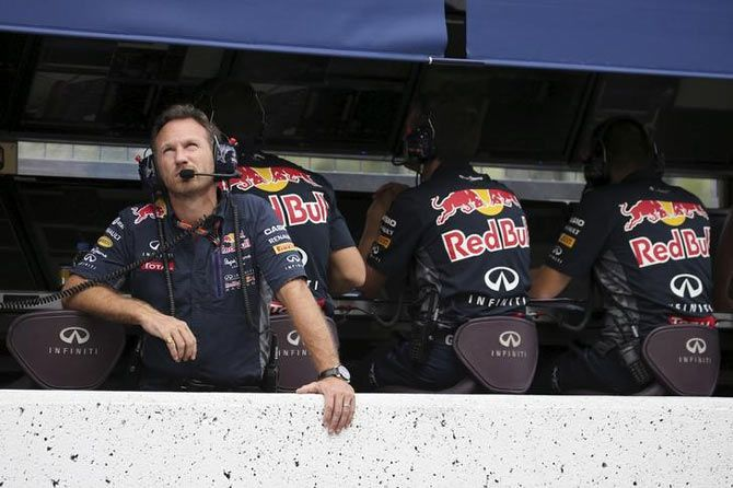Red Bull Formula One Team Principal Christian Horner