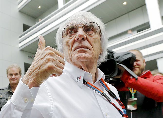 F1 qualifying can be changed for Bahrain: Ecclestone
