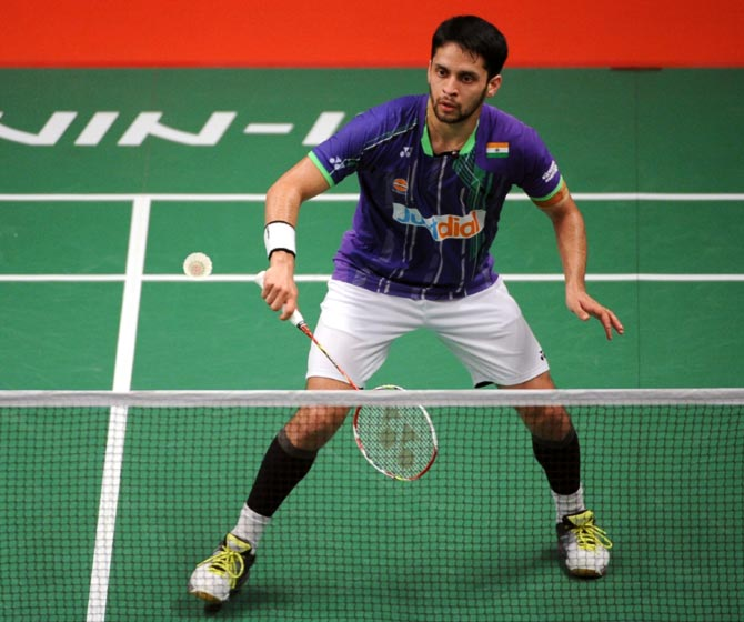 Rediff Sports - Cricket, Indian hockey, Tennis, Football, Chess, Golf - How shuttler Kashyap made comeback after career-threatening injury