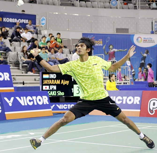 India's Ajay Jayaraman will face Malaysia's Lee Zii Jia in the last eight of the competition