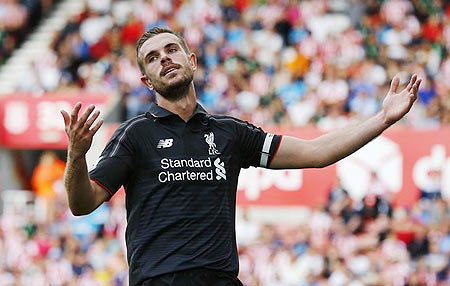 EPL: Liverpool's Henderson eyes Mourinho revenge for 2014 loss