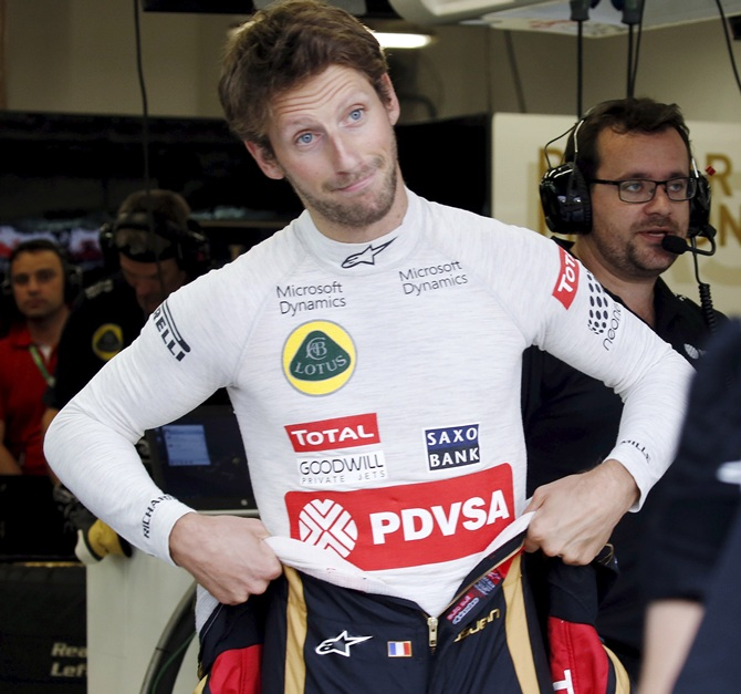 Reverse grids would spell 'disaster', says Grosjean
