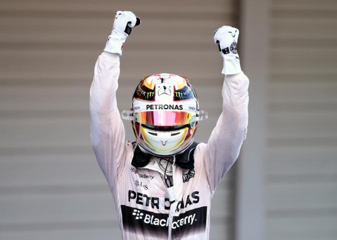 Lewis Hamilton fastest in Monza practice