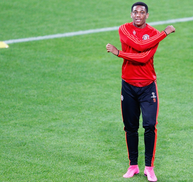Mourinho opens up on Martial's exit plan